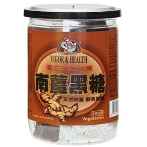 Ginger Brown Sugar Candy 南薑黑糖  (300g/can)