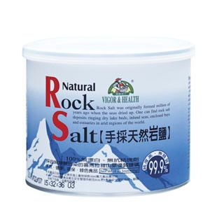 Natural Rock Salt 手採天然岩鹽 ( 600g/can )