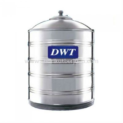 DWT VERTICAL FLAT BOTTOM WITHOUT STAND 304 STAINLESS STEEL WATER TANK