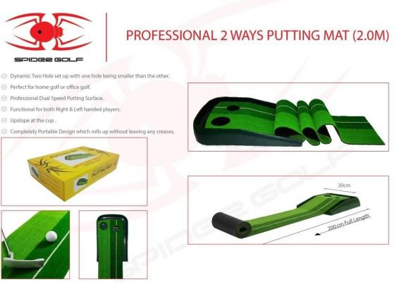 Professional 2 Way Putting Mat 2.0 Meter from Japan