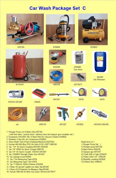 Car Wash Package C