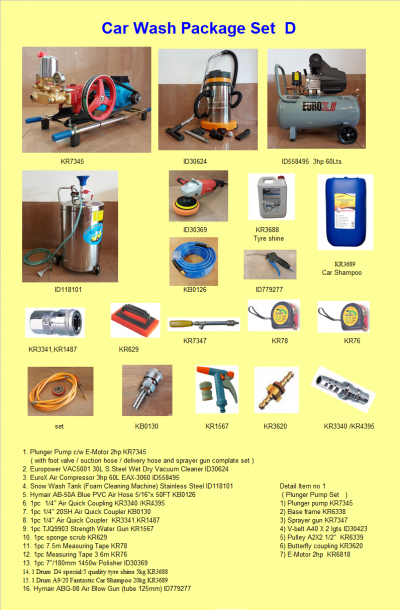 Car Wash Package D