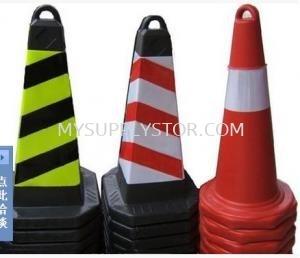 Trafic Cone Square 4-side