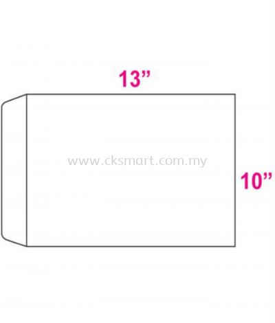 10 X 13 WHITE ENVELOPE