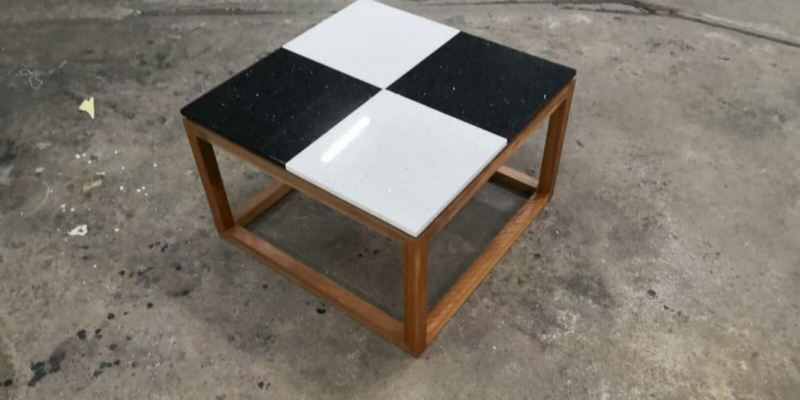 Quartzstone top - coffe table Rm250.00