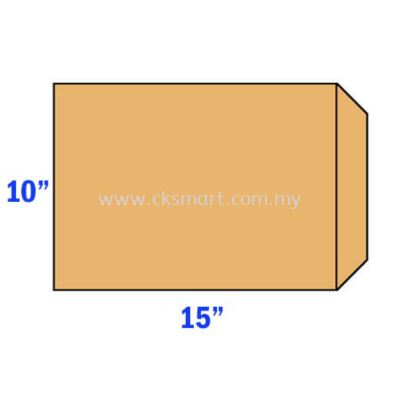 10 X 15 BROWN ENVELOPE