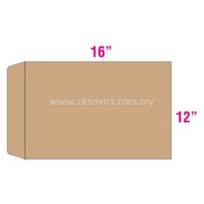 12 X 16 BROWN ENVELOPE