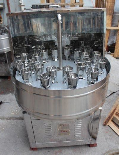 CP-24 SEMI AUTO BOTTLE FLUSHING MACHINE
