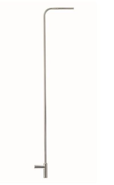 Pitot tube, length 1000 mm, stainless steel, for measuring flow velocity