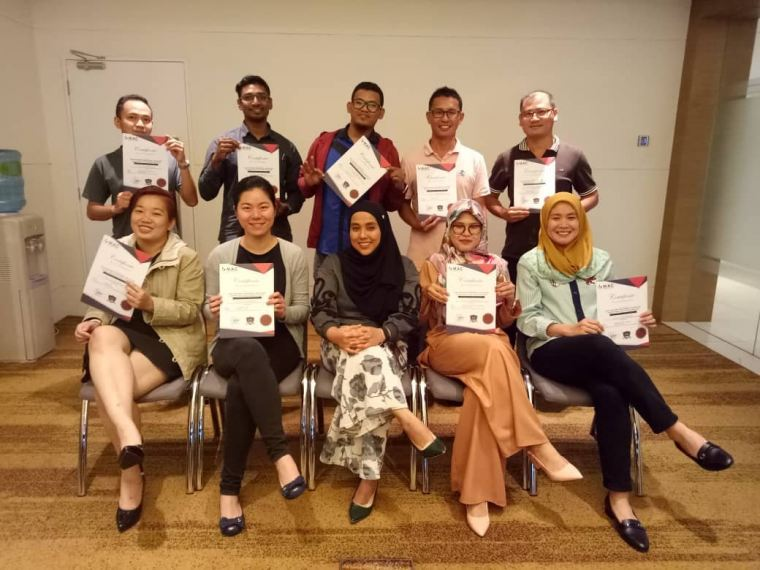 Workshop In House Training 2018 at Four Points Sheraton Puchong