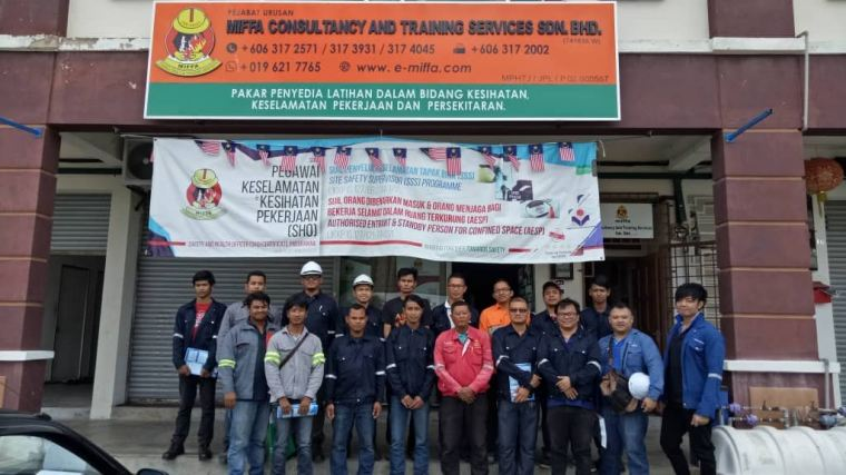 Niosh Confine Space Training 2018 at Melaka