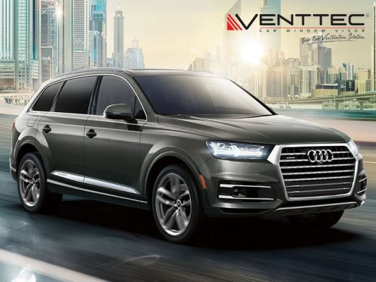 AUDI Q7 16Y-ABOVE = VENTTEC DOOR VISOR