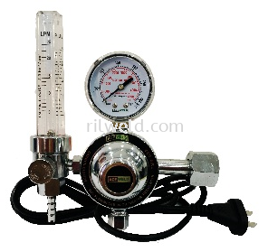 Ace Weld CO2 Heater Regulator C/W Flowmeter