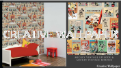 90-047,70-242 mickey vintage episode G & B - Kids @ Home - 2017 Germany Wallpaper - Size: 53cm x 10m