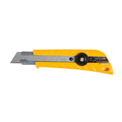 Olfa 18mm Pistol Grip Ratchet-Lock Utility Knife (L-1)