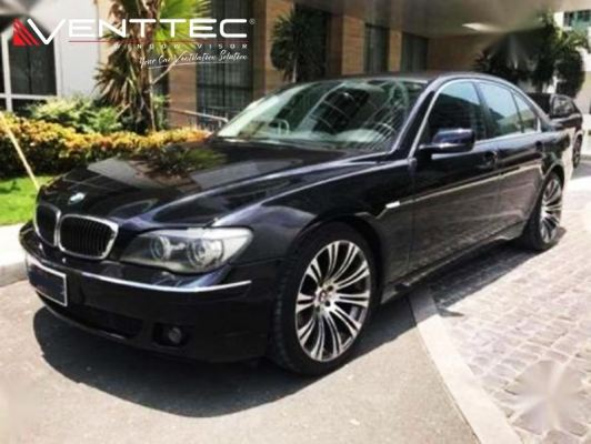 BMW 7-SERIES E65 02Y-08Y (SHORT WHEEL BASE) = VENTTEC DOOR VISOR