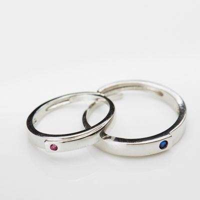 Couple Rings (18K Plated with Silver 925)