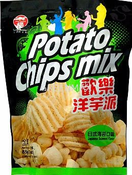 Japenese Flavour Potato Chips (85g) / 日式口味洋芋派 (85g)