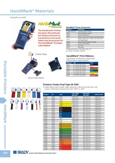 Handimark Materials