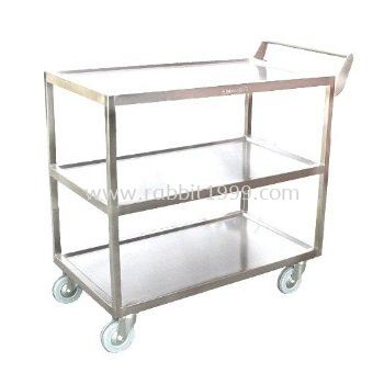 STAINLESS STEEL 3 TIERS TROLLEY - 3TT-1102/SS