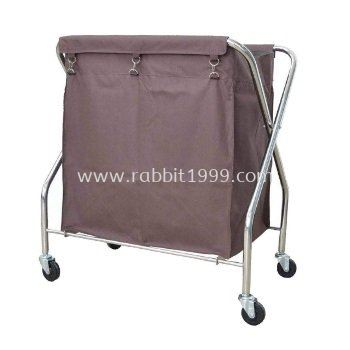 STAINLESS STEEL X-2 TROLLEY - SLT-511/SS