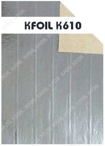 (K610) S/S Reflective Metalized Paper Film, Polyester Yarn Reinforced