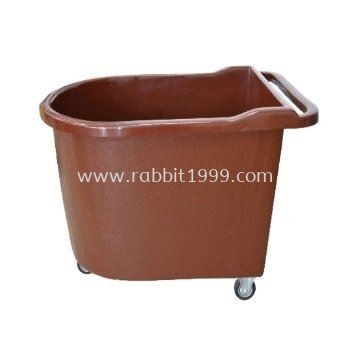 FIBERGLASS LAUNDRY TROLLEY with handle