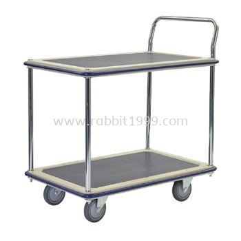 2 SHELF 1 HANDLE TROLLEY