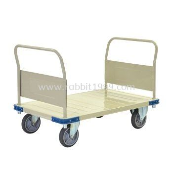 2 FIXED HANDLE PLATFORM TROLLEY