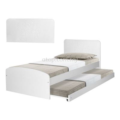 Atop ATN 8249WH Single Bed Frame