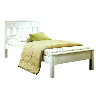 Atop ATN 8291WH Single Bed Frame