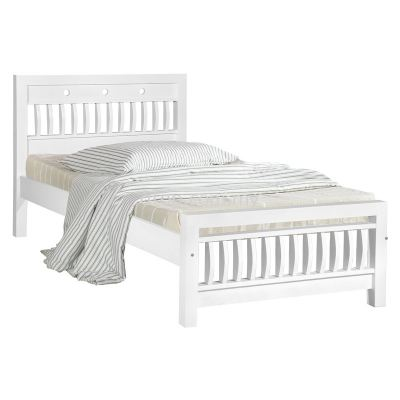 Atop ATN 290WH Single Bed Frame