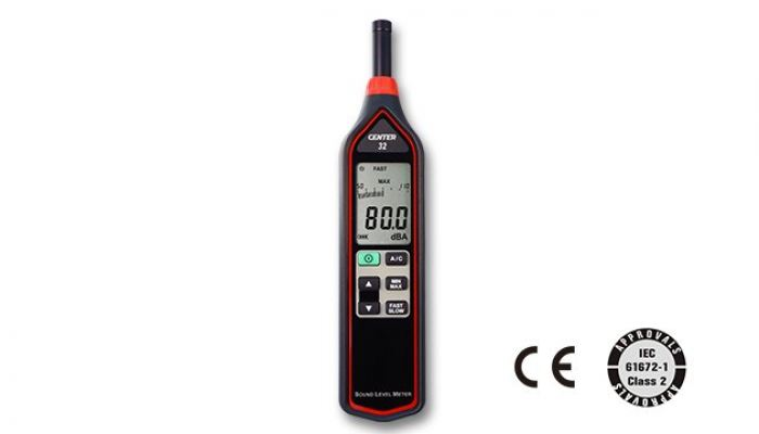 CENTER 32 SOUND LEVEL METER (IEC 61672-1 class 2, Economy)