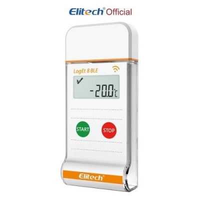 ELITECH LogET 8 BLE BLUETOOTH TEMPERATURE DATA-LOGGER