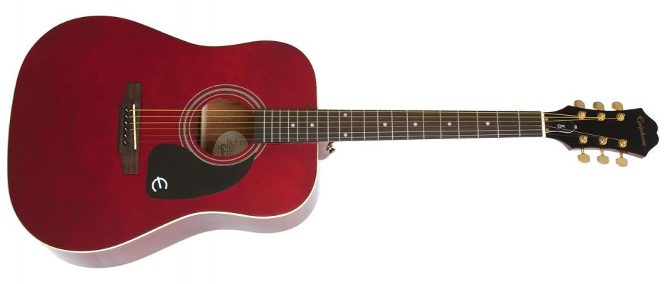 Ltd. Ed. DR-100 Acoustic (Wine Red)