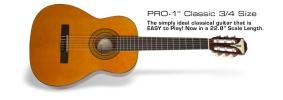 PRO-1 Classic 3/4-Size Acoustic Guitar Epiphone