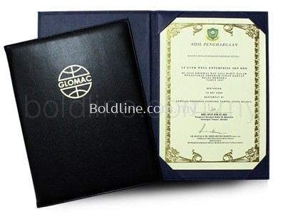 Certificate Holder / Folder / Student Report File