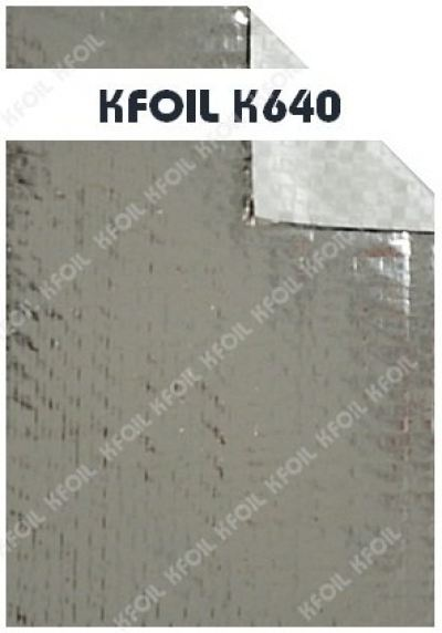 (K640) S/S Reflective Metalized Woven Film