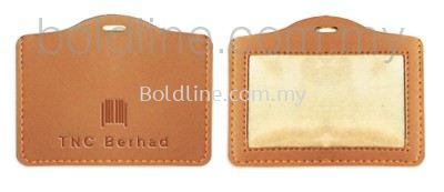 Name Tag / ID card holder - PU Leather
