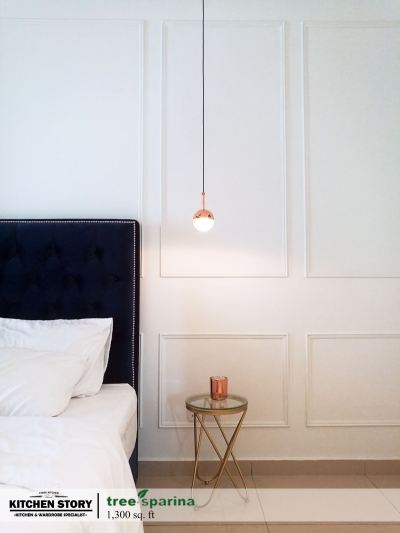 Master Bedroom Wall Paneling