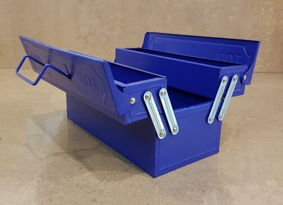 Two Trays Tool Box 330x160x160 ID30598