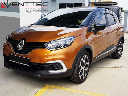 RENAULT CAPTUR 13Y-ABOVE = VENTTEC DOOR VISOR