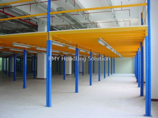 Rack Supported Mezzanine Floor