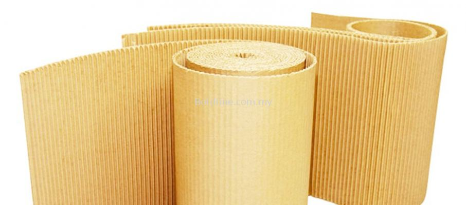 Corrugated B-Flute Single Face Roll