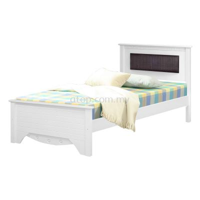 Atop ATN 8240WH Single Bed Frame
