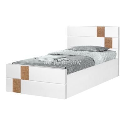 Atop ATN 8292WH Single Bed Frame