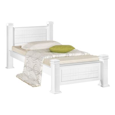 Atop ATN 921WH Single Bed Frame