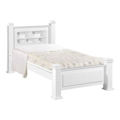 Atop ATN 922WH Single Bed Frame