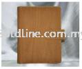 B6034 Wood Brown - B6 Organizer - PU Leather Organizer Diary & Calendar Premium Gifts