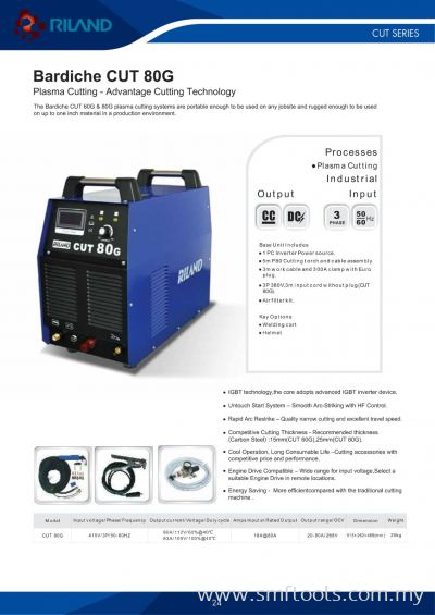 Riland Bardiche CUT 80G Welding Machine